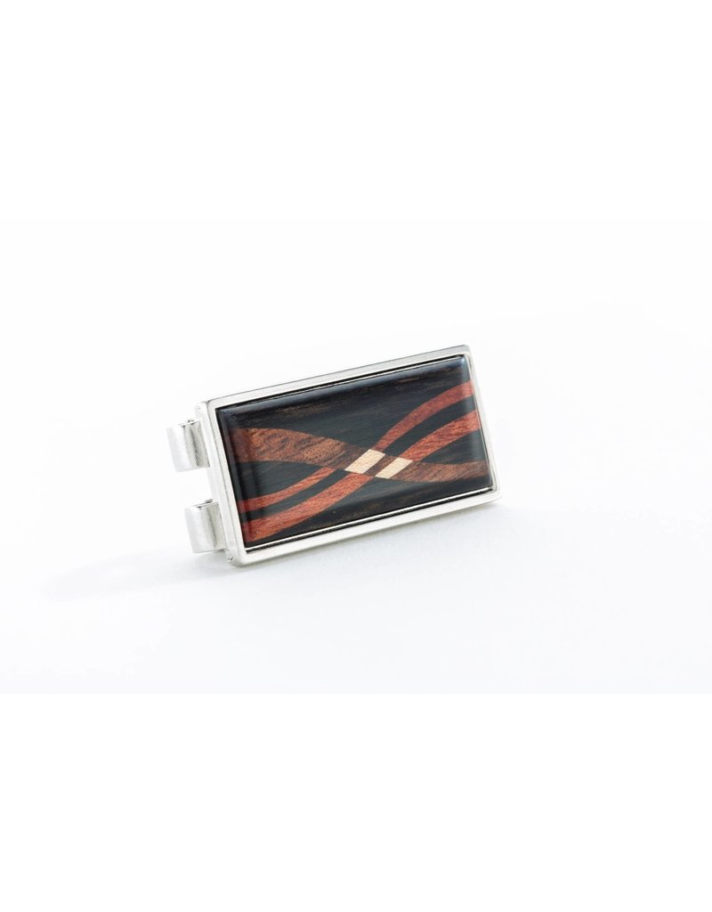 Davin and Kesler Money Clip - Inlay Ebony