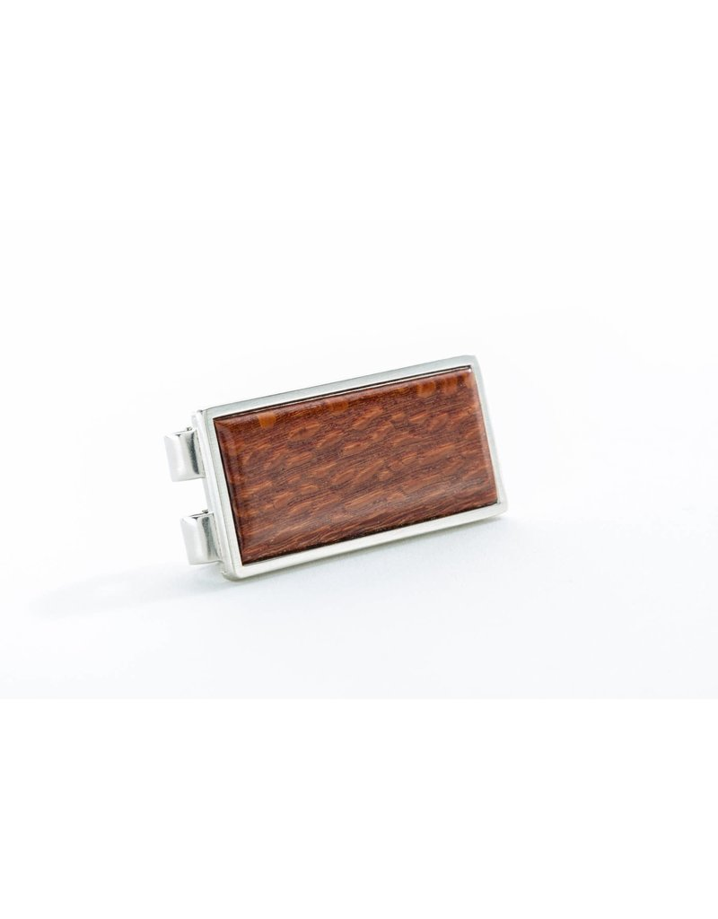 Davin and Kesler Money Clip - Solid Lacewood