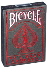 Bicycle Bicycle Foil Metalluxe Red Playing Cards