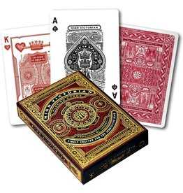 Theory11 High Victorian Red Playing Cards