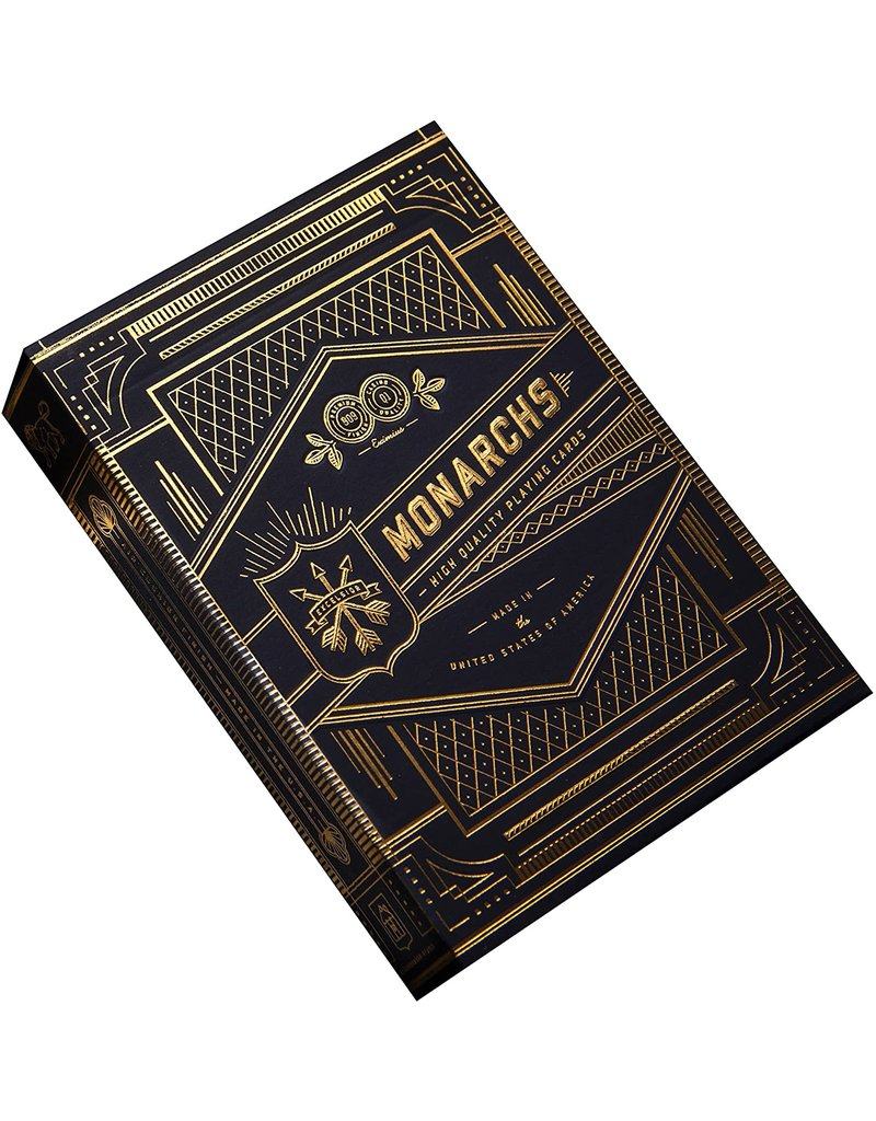 Theory11 Monarchs Navy Playing Cards