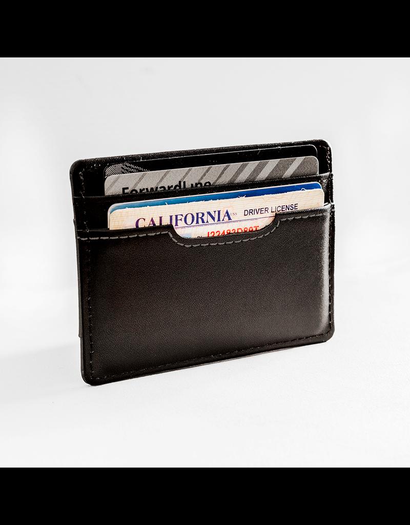Forrest & Harold Black and Grey Cardholder Wallet