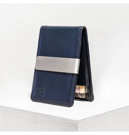 Forrest & Harold Navy Blue Money Clip Wallet