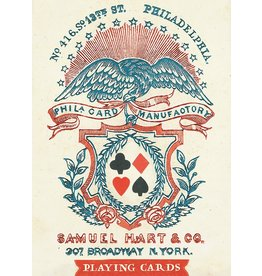 1858 Samuel Hart Playing Cards
