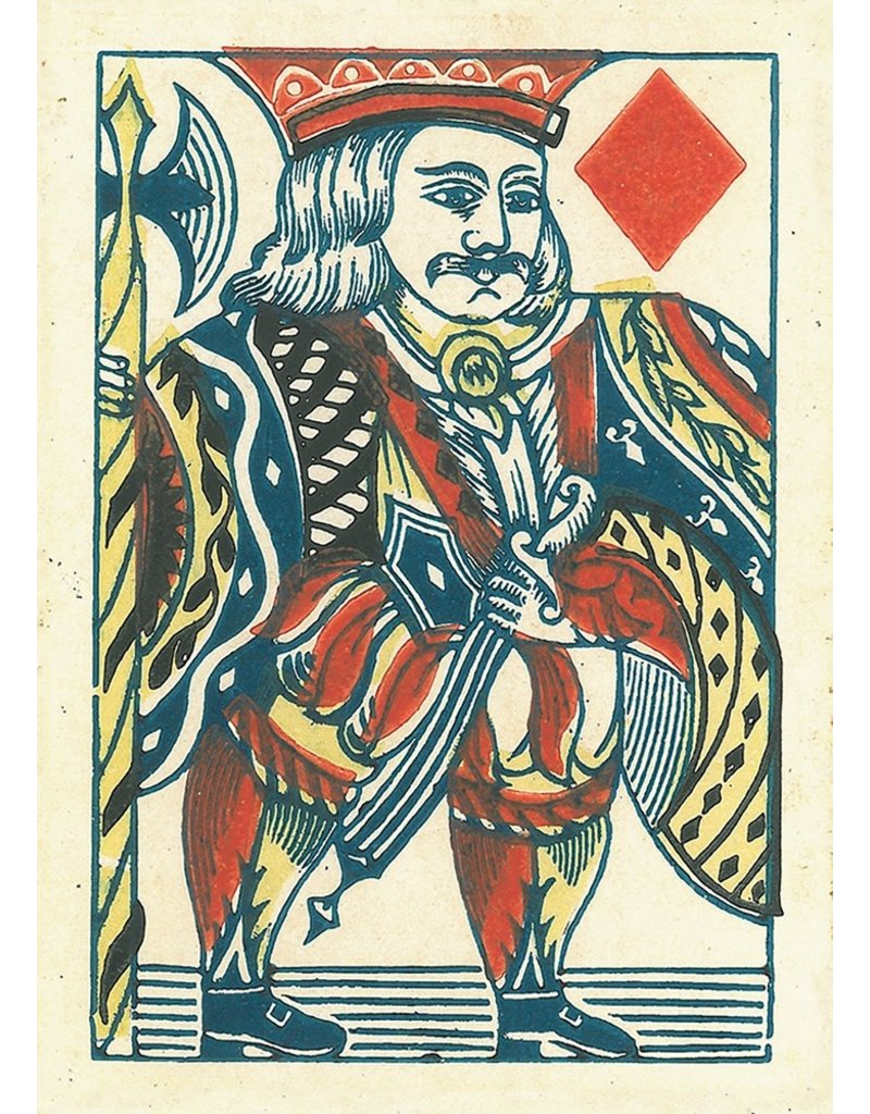 1858 Samuel Hart Playing Cards