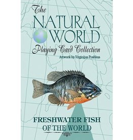 Freshwater Fish of the World Playing Cards