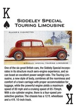 Vintage Motor Cars Playing Cards