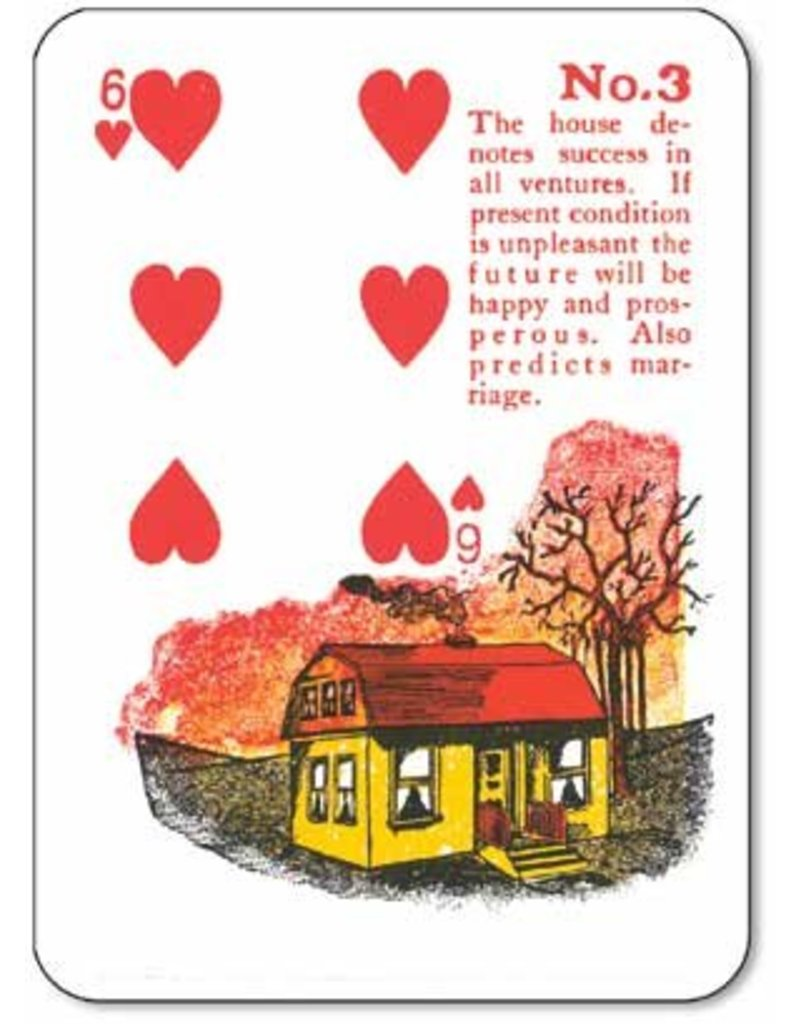 Gypsy Witch Fortune Telling Cards