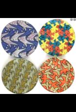 Parastone Escher Symmetry Birds & Fish Coaster Set