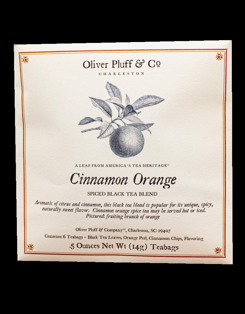 Oliver Pluff & Company Cinnamon Orange Spice Tea - 6 Teabags