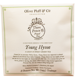 Oliver Pluff & Company Young Hyson Green Tea - 6 Teabags