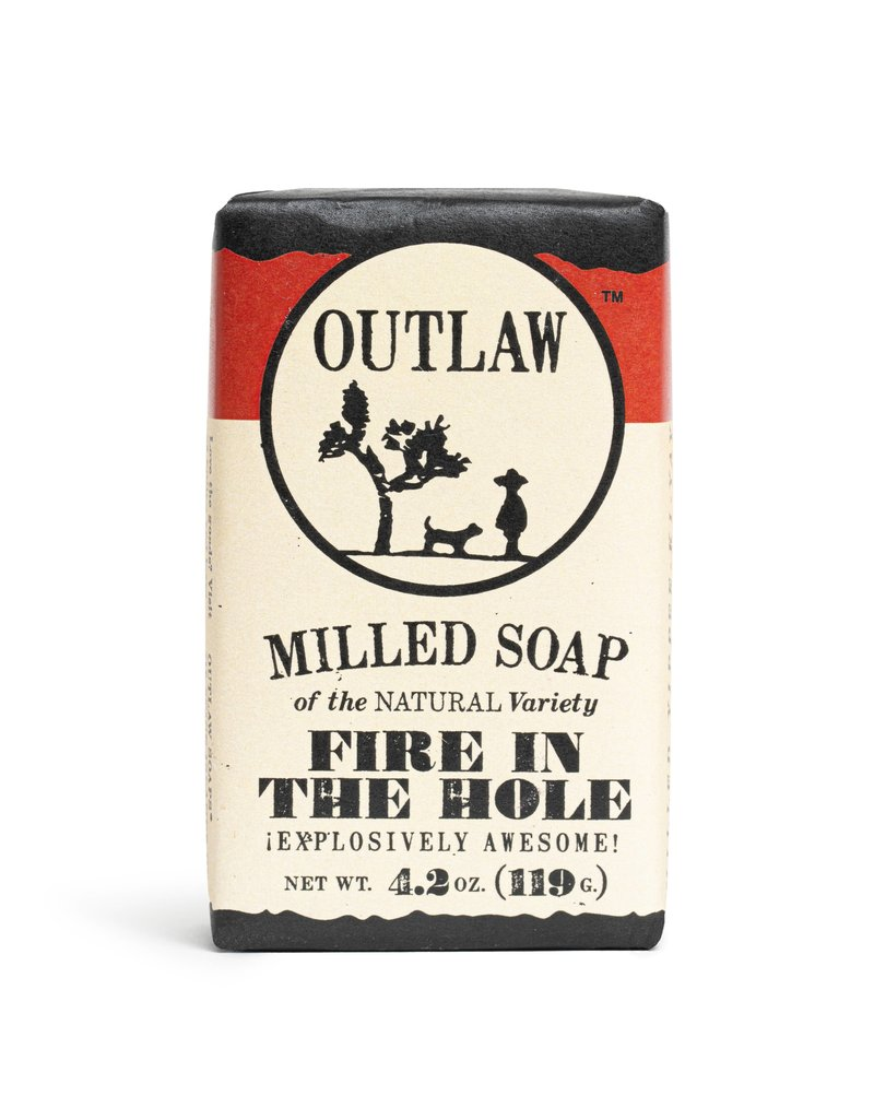Outlaw Outlaw  Milled Soap