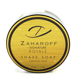Gentleman's Nod Gentleman's Nod Shave Soap - Zaharoff Signature Royale