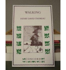 Applewood Books Walking by Thoreau