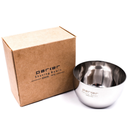 Parker Parker Polished Stainless Steel Shave Bowl