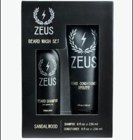 Zeus Zeus Beard Wash Set - Sandalwood