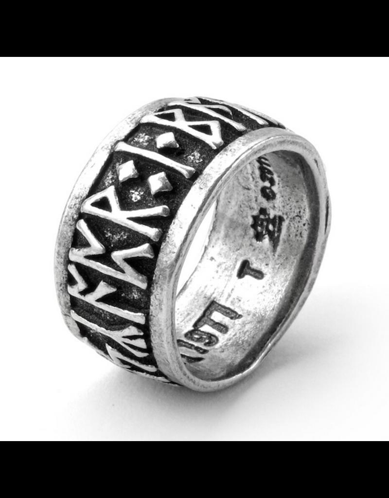 Alchemy of England Runeband Ring