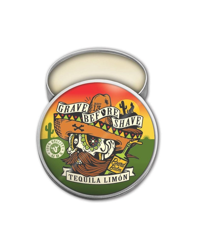 Grave Before Shave Grave Before Shave 2 oz. Beard Balm - Tequila Limón