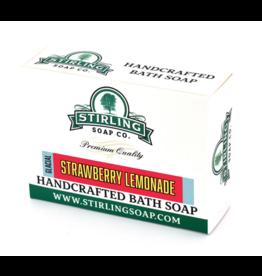 Stirling Soap Co. Stirling Bath Soap - Glacial Strawberry Lemonade