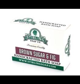 Stirling Soap Co. Stirling Bath Soap - Brown Sugar & Fig