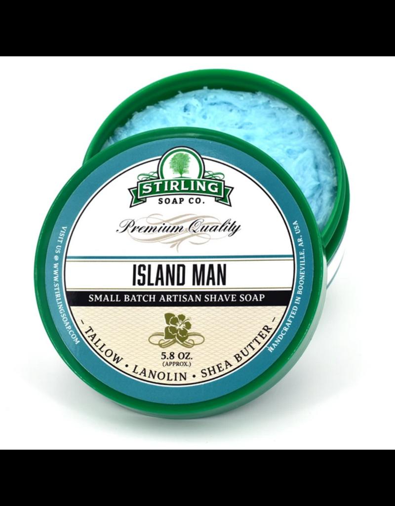 Stirling Soap Co. Stirling Shave Soap - Island Man