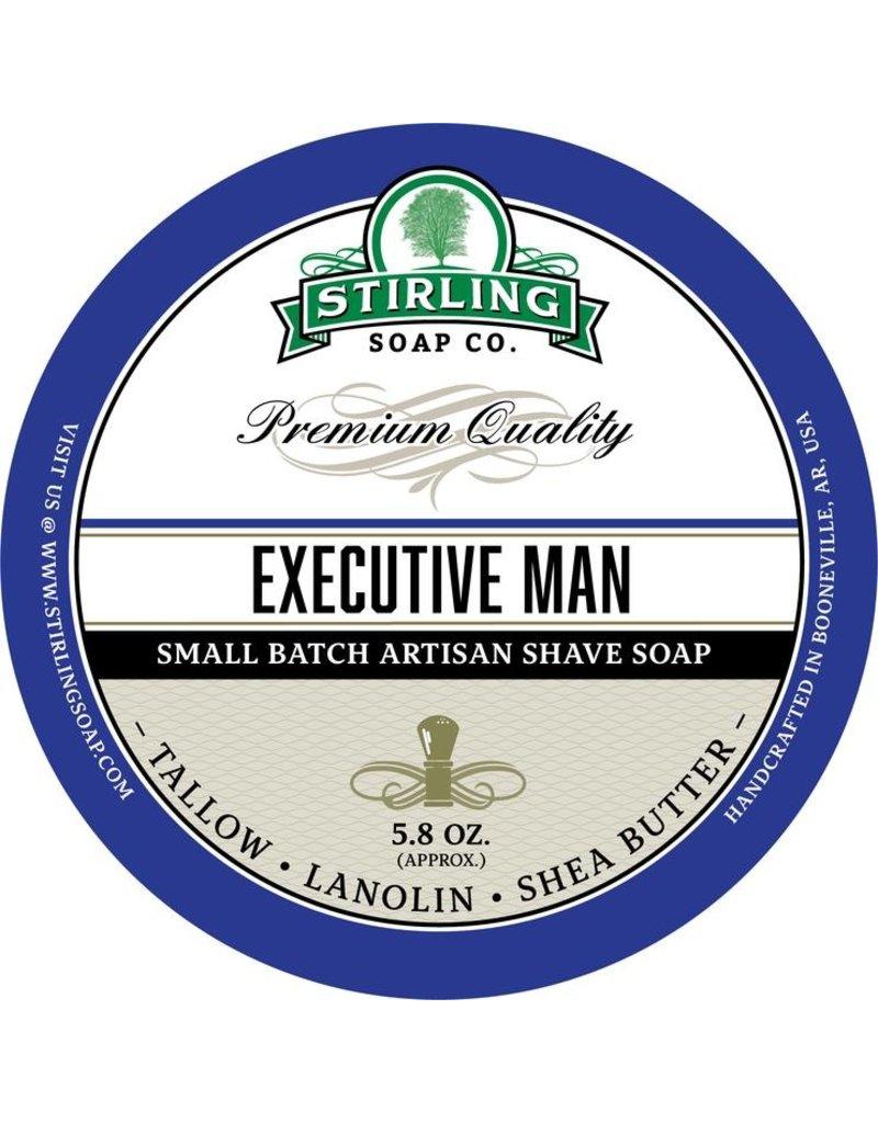Stirling Soap Co. Stirling Shave Soap - Executive Man