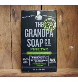 The Grandpa Soap Co. Pine Tar Soap 4.25 oz
