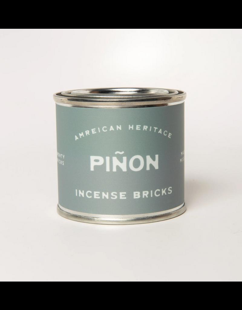 American Heritage Brand Incense Bricks - Piñon