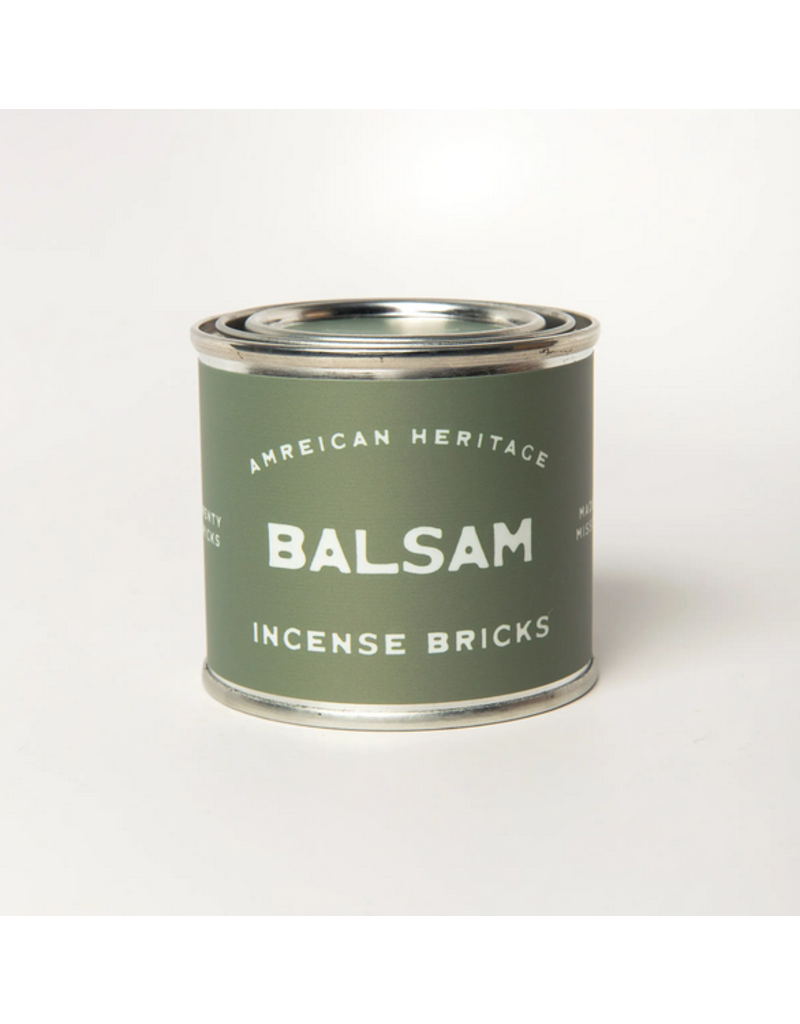 American Heritage Brand Incense Bricks - Balsam