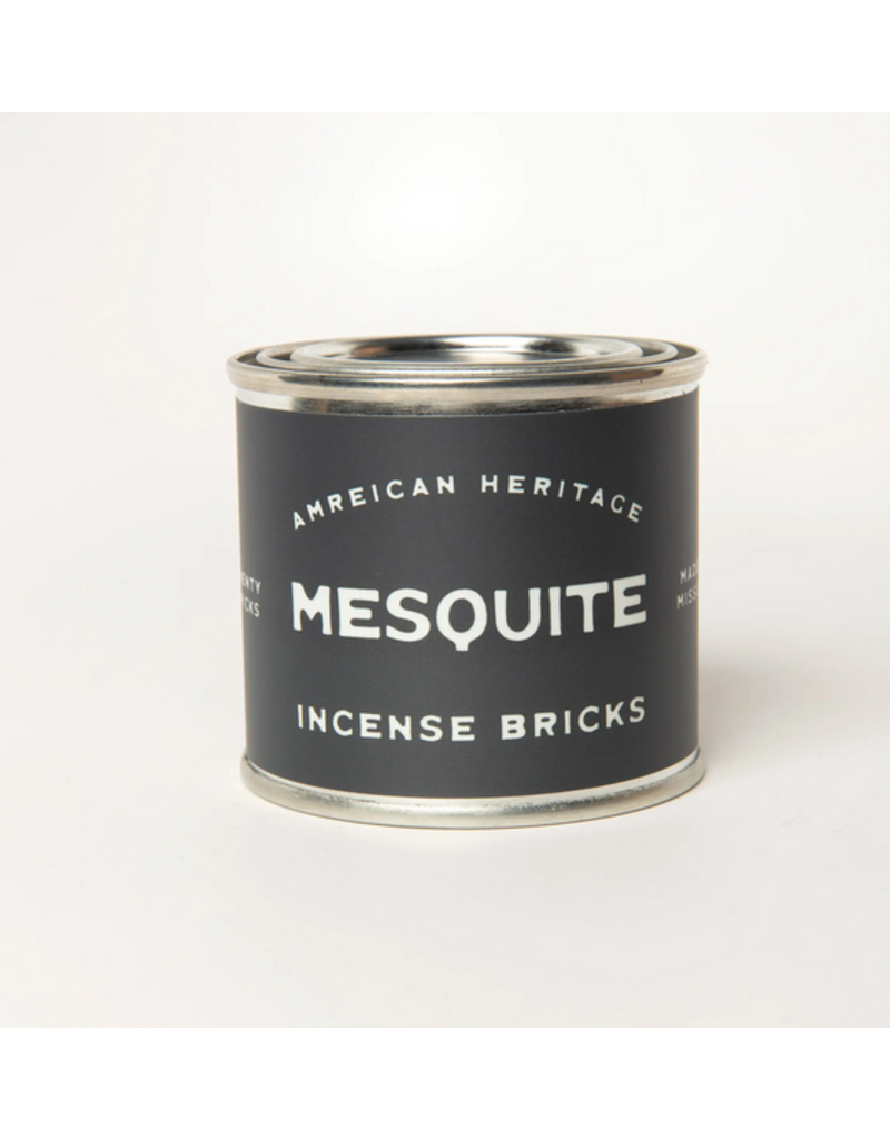 American Heritage Brand Incense Bricks - Mesquite