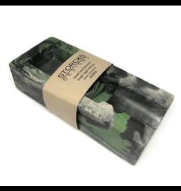 Storcks Designs Concrete Single Cigar Ashtray - Green Marbled