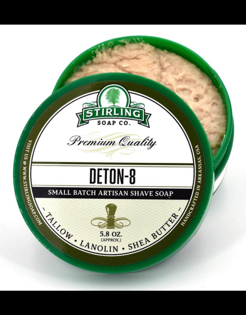 Stirling Soap Co. Stirling Shave Soap - Deton-8
