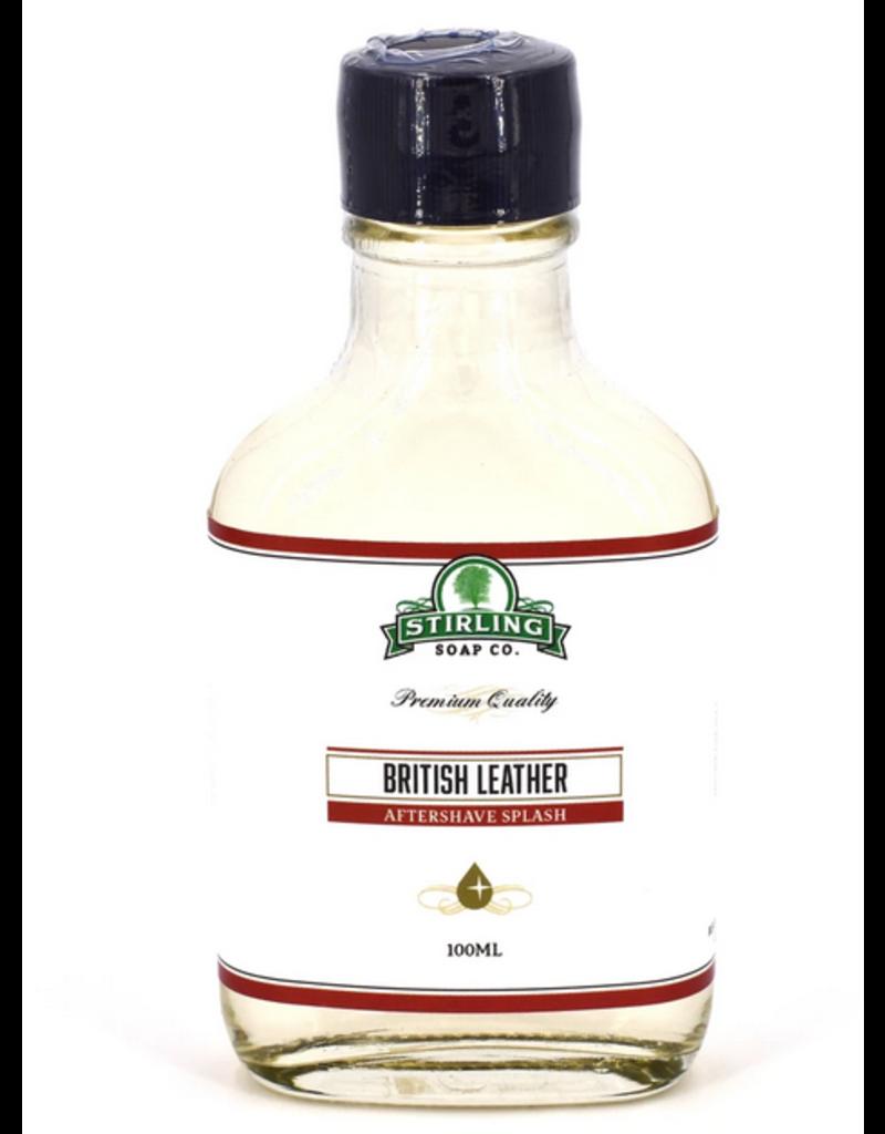 Stirling Soap Co. Stirling Aftershave Splash - British Leather