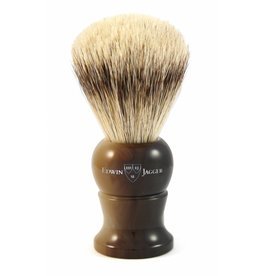 Edwin Jagger Edwin Jagger Super Badger Brush - Medium, Imitation Horn