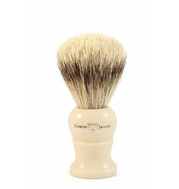 Edwin Jagger Edwin Jagger Super Badger Brush - Medium, Imitation Ivory
