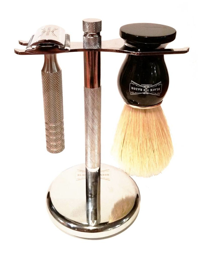 Black Tie Razor Company Black Tie Razor Co. Razor & Brush Set