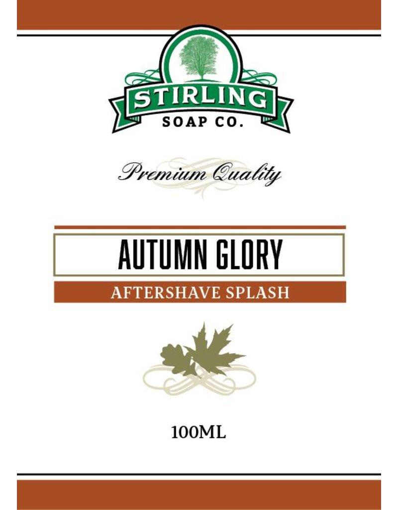 Stirling Soap Co. Stirling Aftershave Splash - Autumn Glory