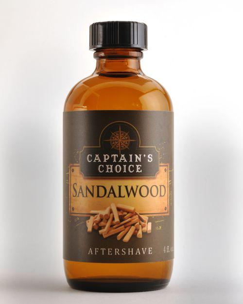 Captain's Choice Captain's Choice Aftershave Splash - Sandalwood