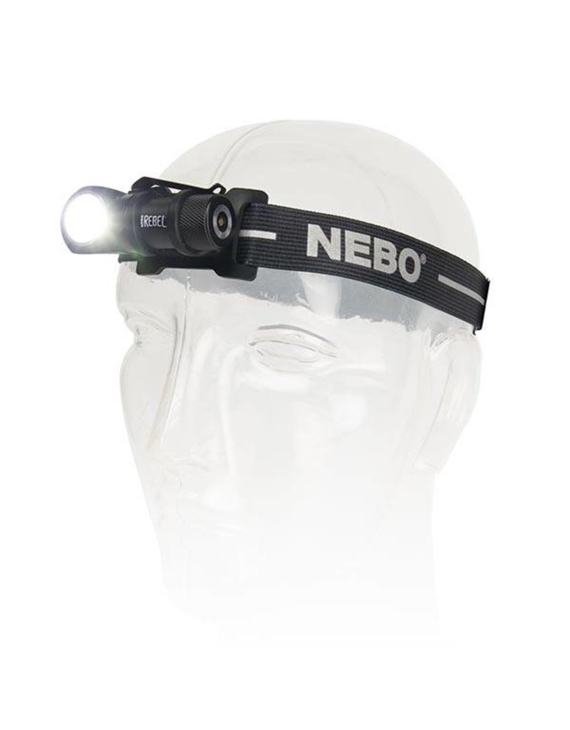 NEBO Nebo Rebel Task Light & Head Lamp