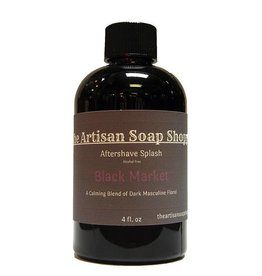The Artisan Soap Shoppe The Artisan Soap Shoppe - Black Market Aftershave Splash