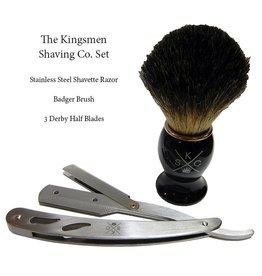 The Kingsmen Shaving Company Kingsmen Razor & Brush Set