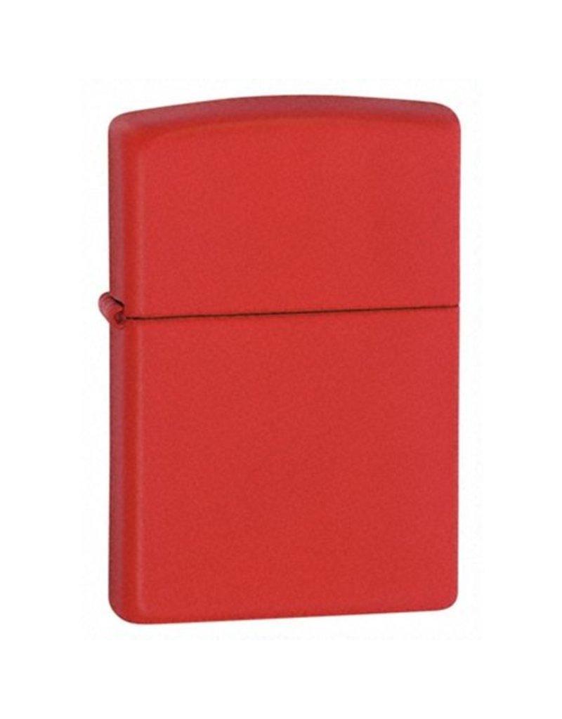 Zippo Red Matte Lighter