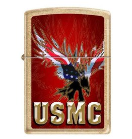 Zippo Marine Corps Eagle Lighter
