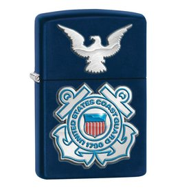 Zippo Coast Guard Crest Lighter