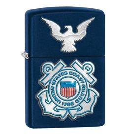 Zippo Coast Guard Crest Lighter