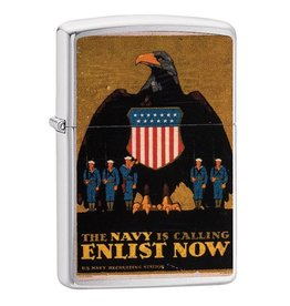 Zippo Navy Enlist Now Lighter