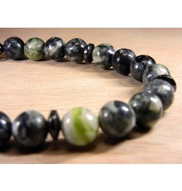 My Gigi's House Beads Bracelet - Rainforest Jasper With Magnetic Hematite