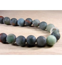 My Gigi's House Beads Bracelet - Bloodstone