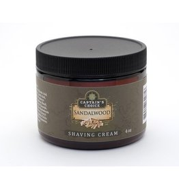 Captain's Choice Captain's Choice Shaving Cream - Sandalwood