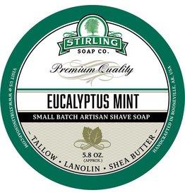 Stirling Soap Co. Stirling Shave Soap - Eucalyptus Mint